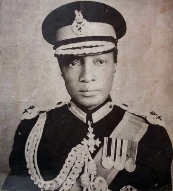 Sir Edward Mutesa, first president of Uganda