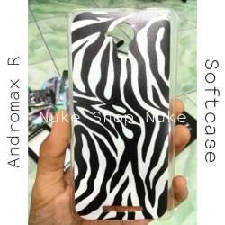 Soft case Handphone Andromax R Model Corak Sapi