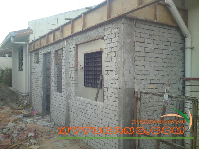 Kos Sambung Dapur 2 Tingkat Di Bandar Baru Salak Tinggi Tukang Renovation Kayu Landscape