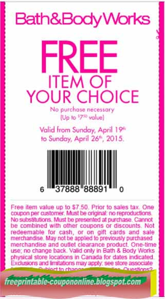 Bath and body coupons 2019