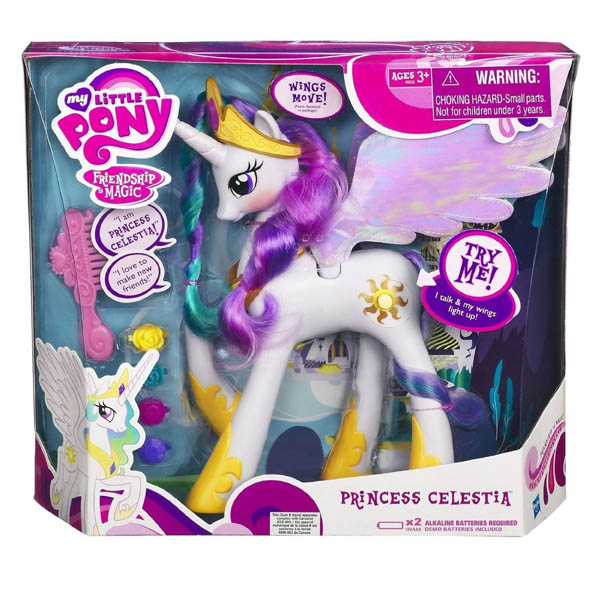 MLP Princess Celestia Brushables