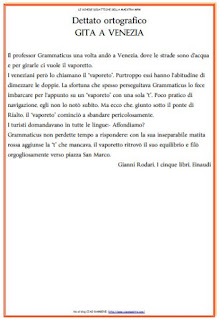 Ciao Bambini Ciao Maestra Ortografia
