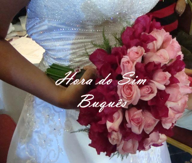 (412)Buquê de Noiva Romântico