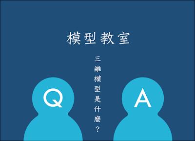 【模型教室】Q1. 三維模型是什麼?