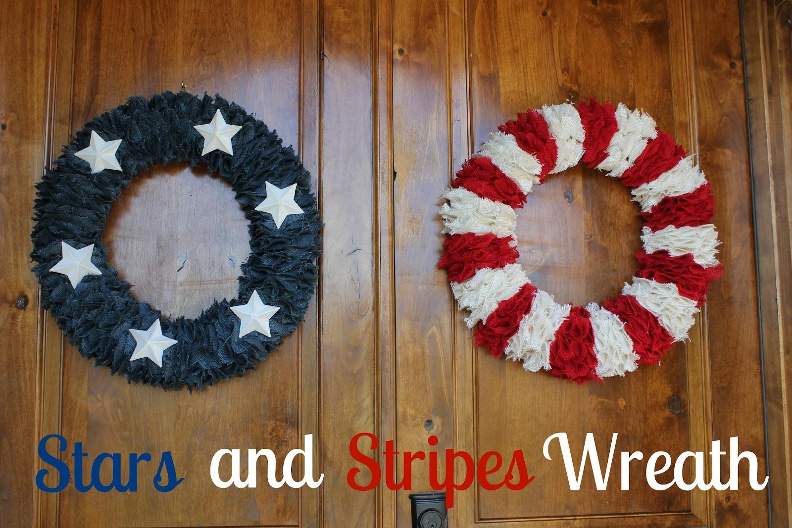 diy wreath {4th of July}