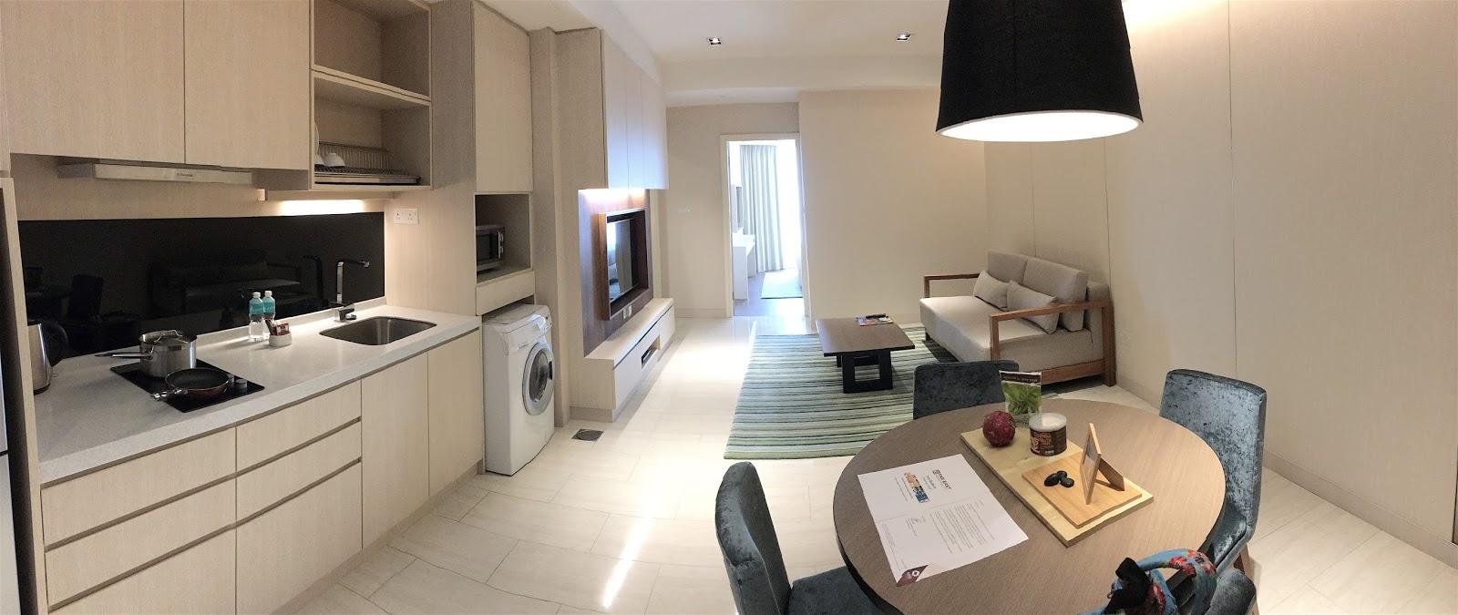 Oasia Suites Kuala Lumpur Malaysia More Home Than Hotel