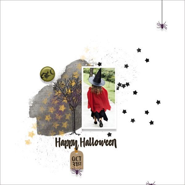 happy halloween © sylvia • sro 2018 • october 31 by nibbles skribbles