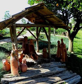 Presépio no L´Arte Ceccato, em Vila Flores