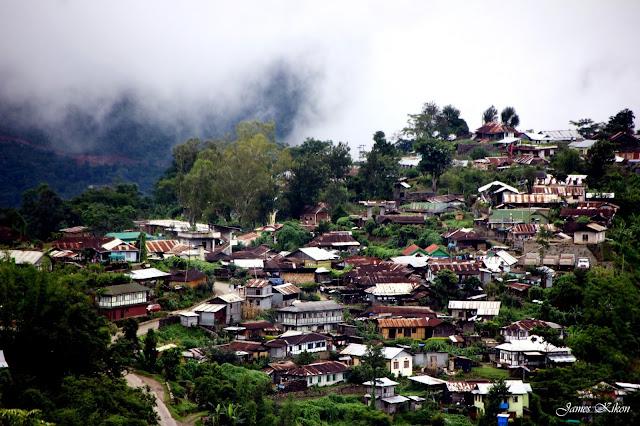 abode in the clouds jotsoma khonoma kohima nagaland houses