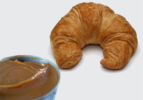 Pan con manjar blanco
