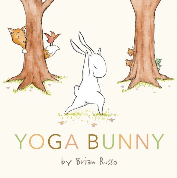 Yoga Bunny book review with suggested activities. This super sweet book is perfect for introducing yoga to your kiddies. #gradeonederful #kidsbooks #bookreview #yoga #yogabunny