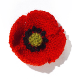 Knitting Pattern For Poppy Flowers : Miss Julias Patterns: Free Patterns - 40+ Flowers to knit & Crochet