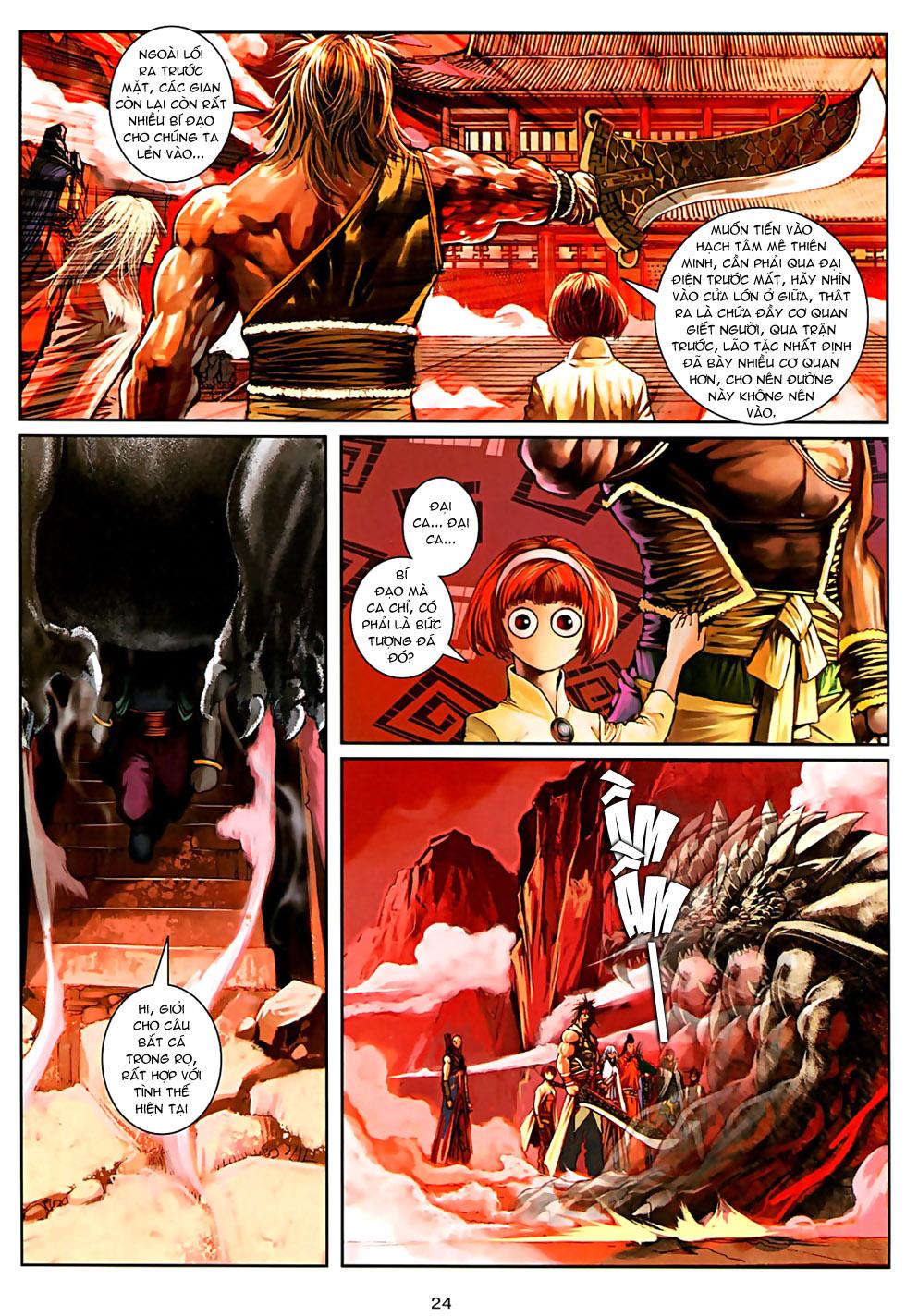 Ôn Thuỵ An Quần Hiệp Truyện Phần 2 chapter 32 trang 22