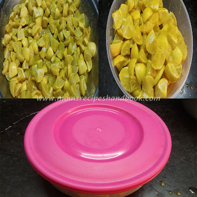 how to make nimmakaya pickle