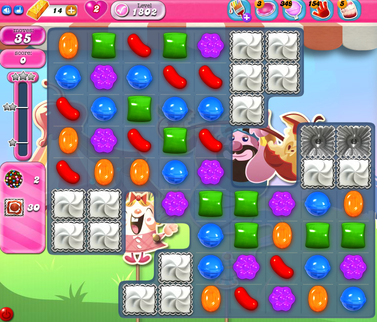 Candy Crush Saga 1802