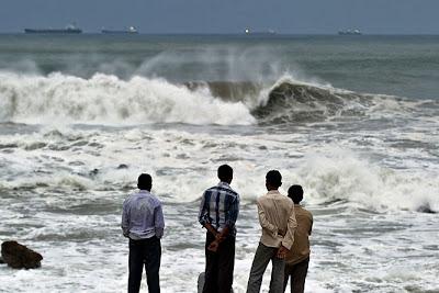 Pusztító ciklon közeledik Indiához