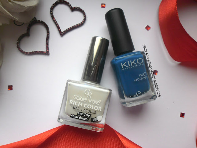 Golden Rose Rich Color Nail Lacquer 101, Kiko Make Up Milano Nail Lacquer No384