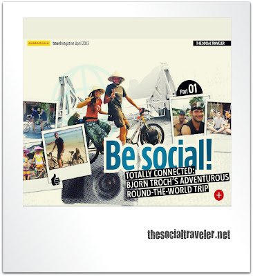 The Social Traveler featured in Marco Polo Travel Magazine