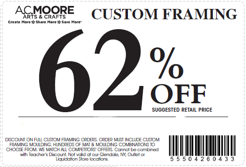 photo regarding Ac Moore Printable Coupon Blogspot referred to as Ac moore printable discount codes september 2018 : Offers in just las vegas