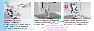 prensatelas maquina de coser 423S cortahilos