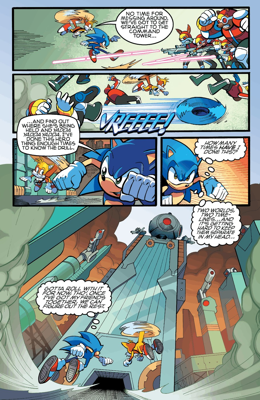 Read online Sonic The Hedgehog comic -  Issue #255 - 6