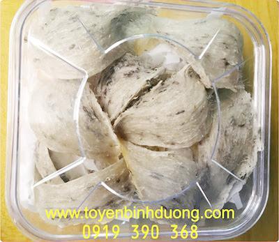 Tổ Yến Thô Còn Lông Định Lượng 100 gram