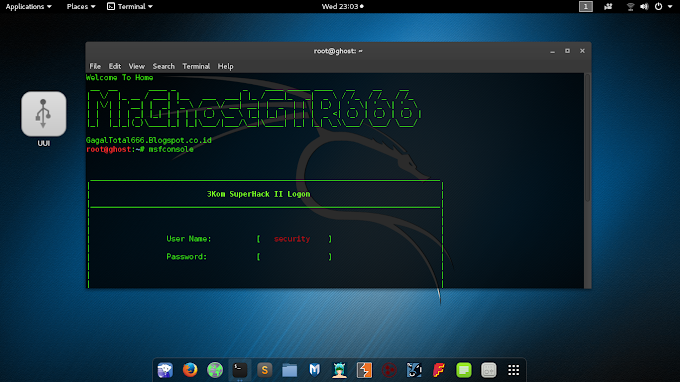 Remote Android menggunakan Msfconsole dan TheFatRat di Kali Linux