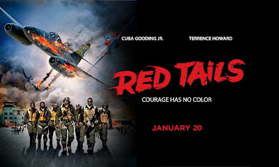 Red Tails Filme estrelando Cuba Gooding Jr. e Terrence Howard