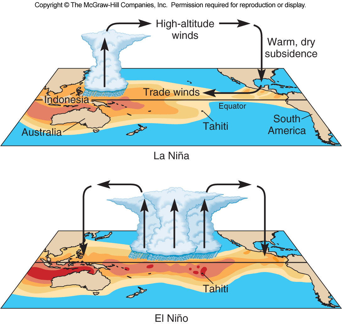 essay about el nino and la nina El niño and la niña events are predictable up to a year in advance, meaning that we can plan for, and adapt to, poor growing conditions using enso forecasts in a way that two-week weather forecasts would never allow.