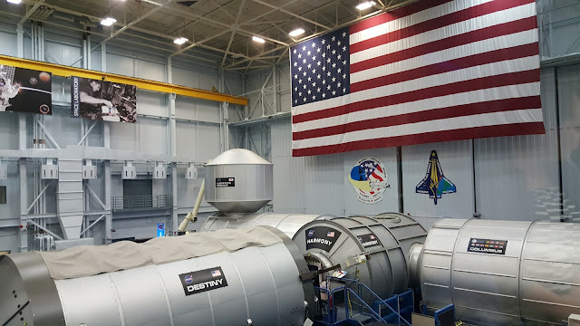 ISS - Building 9 - Vehicle Mock-up Facility - Space Center Houston