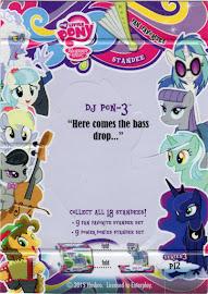 My Little Pony DJ Pon-3 Series 3 Trading Card