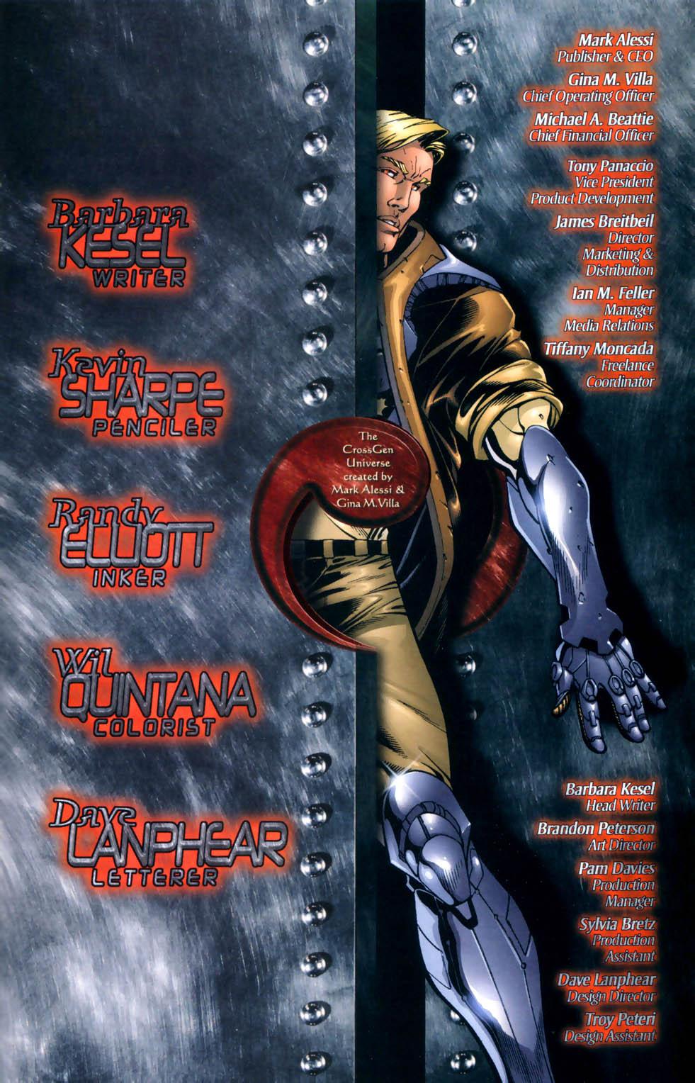 Read online Sigil (2000) comic -  Issue #8 - 21