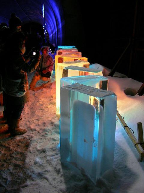 Shiretoko Fantasia (Aurora & Snow Fetival), Hokkaido