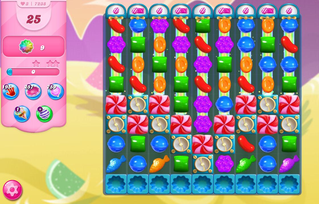 Candy Crush Saga level 7238