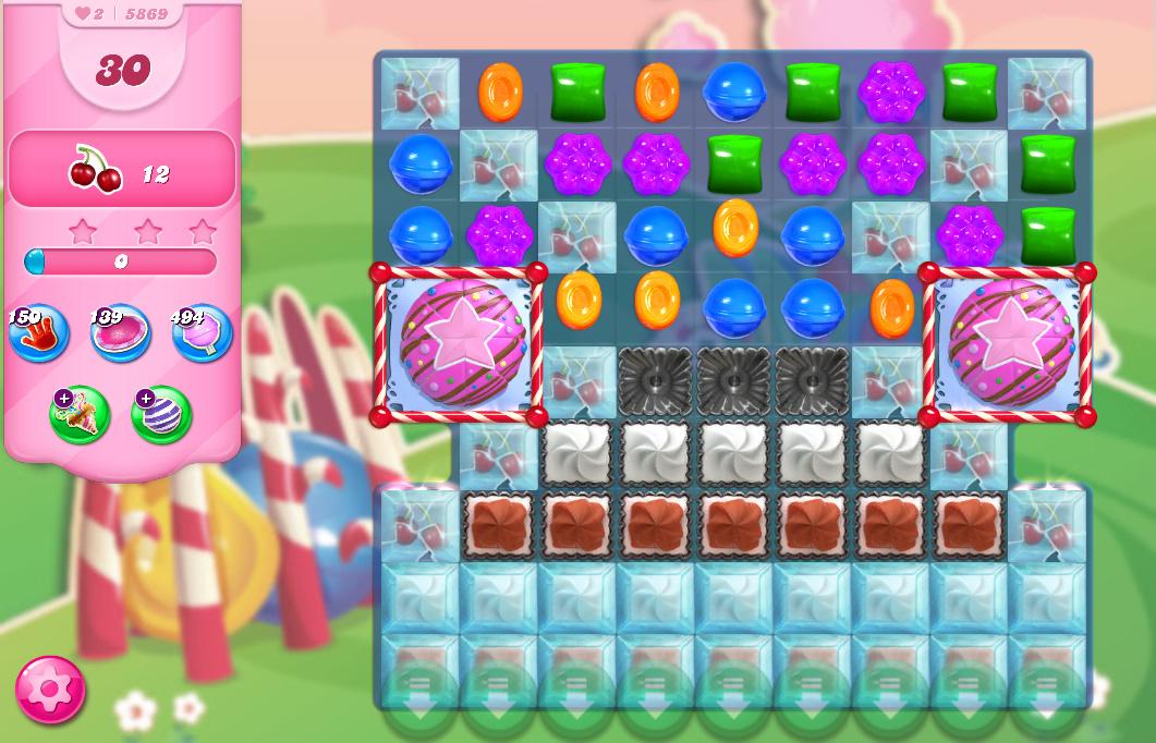 Candy Crush Saga level 5869