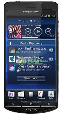 Sony Ericsson Xperia Duo Mobile Phone