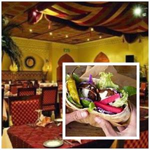 Restoran Abou Rabia, falafel sandwich