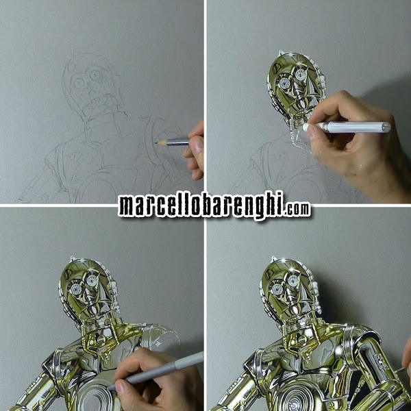 08-C-3PO-Marcello-Barenghi-Realistic-Movie-Character-Drawings-www-designstack-co