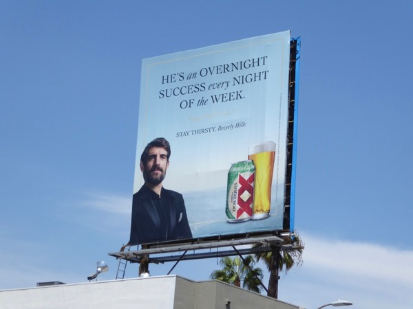 success every night Dos Equis beer billboard