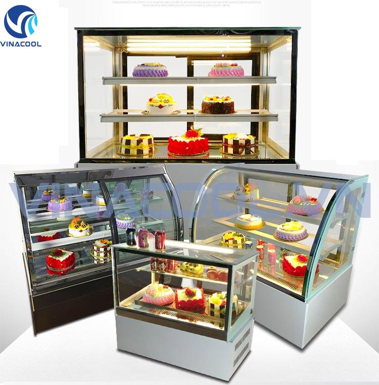 tủ trưng bày bánh ngọt vinacool chính hãng