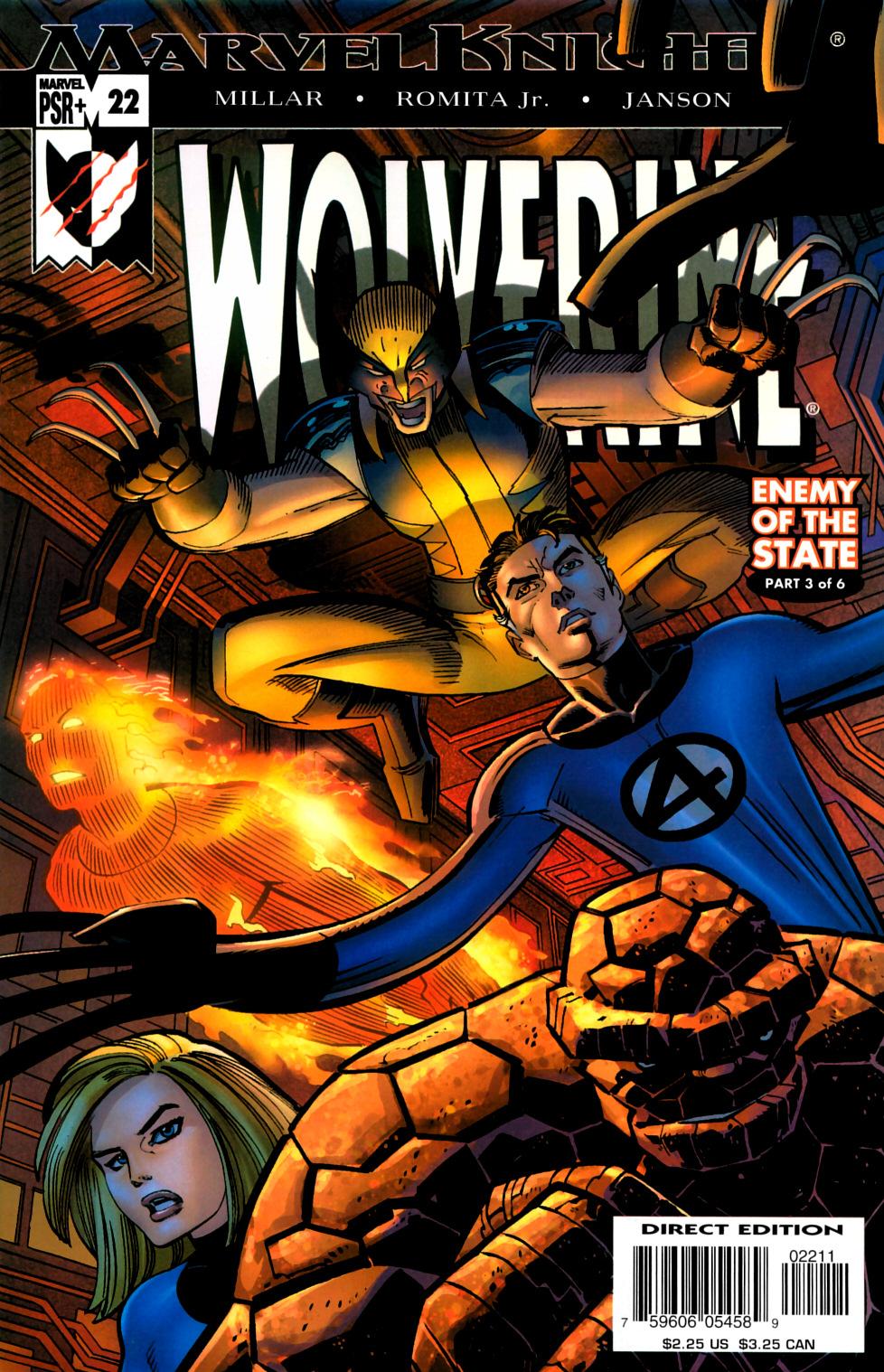 Read online Wolverine (2003) comic -  Issue #22 - 1