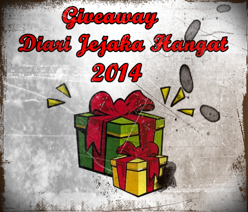 Giveaway Diari Jejaka Hangat 2014