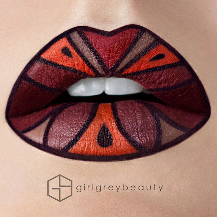 17-Autumn-Andrea-Reed-Body-Painting-and-Lip-Art-www-designstack-co