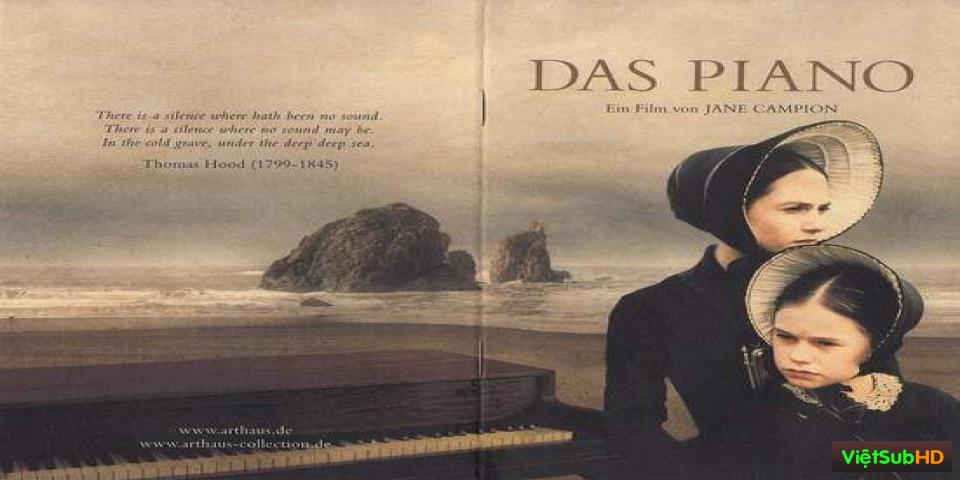 Phim Chiếc Dương Cầm VietSub HD | The Piano 1993