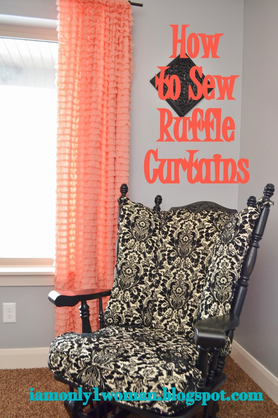 How to Sew Ruffle Curtains