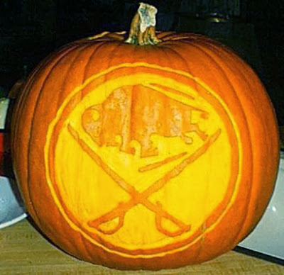 The Penalty Box Hockey Halloween All NHL Teams Carved In Pumpkins