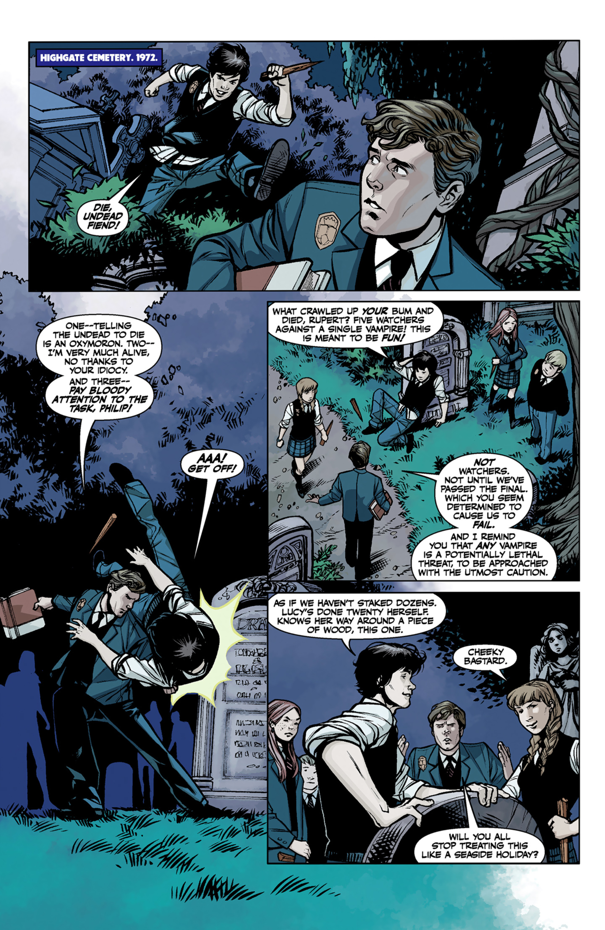 Read online Angel and Faith comic -  Issue #6 - 8