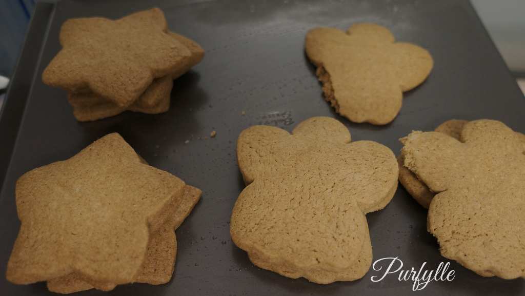 Star and Angel cookies