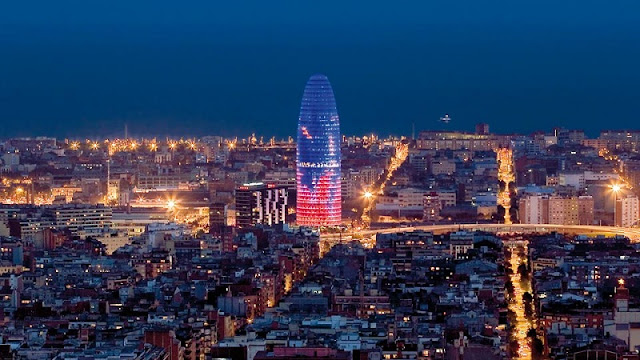 Barcelona em janeiro