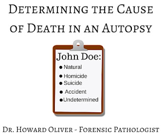 Dr. Howard Oliver - Determining the Cause of Death in an Autopsy